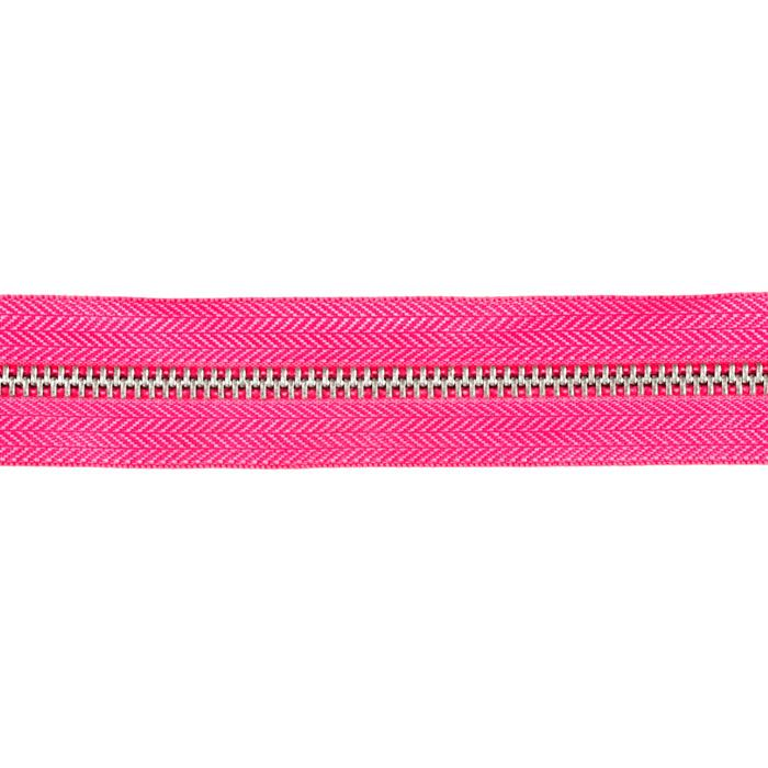 Riley Blake 1 1/4&#39;&#39; Zipper Trim Hot Pink