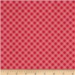 Riley Blake Hello Sunshine Plaid Red