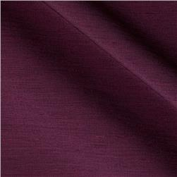 Shantung Faux Silk Aviana Prune