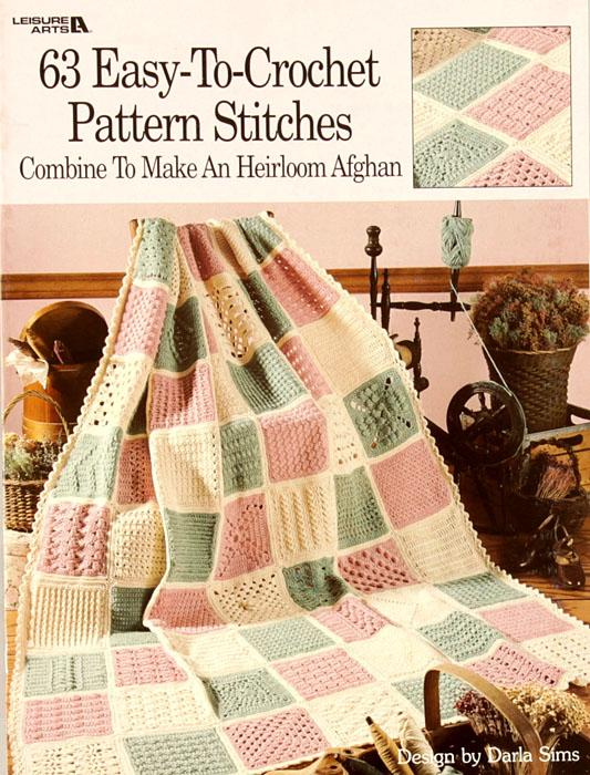 "Leisure Arts ""63 Easy-To-Crochet Pattern Stitches"" Book"