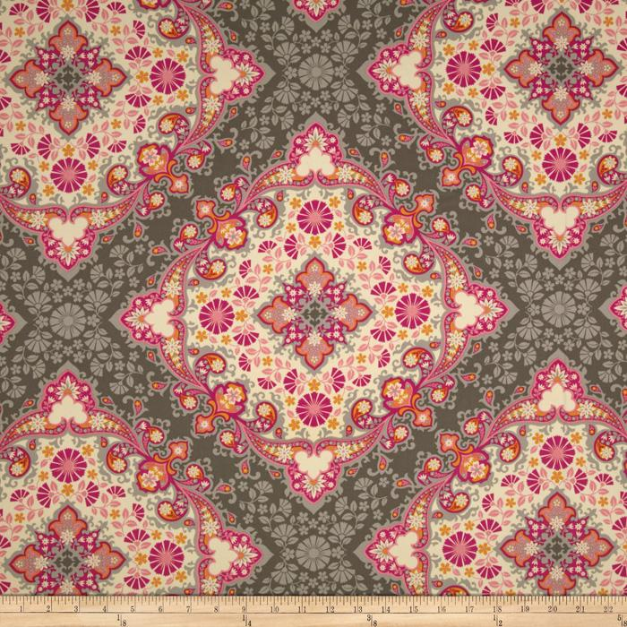Joel Dewberry Notting Hill Sateen Kaleidoscope Pink