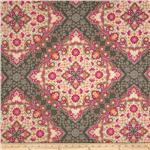0274016 Joel Dewberry Notting Hill Sateen Kaleidoscope Pink
