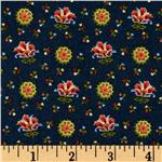 0273306 Pride and Purpose Floral Navy