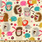 CW-671 Michael Miller Hedgehog Meadow Cream