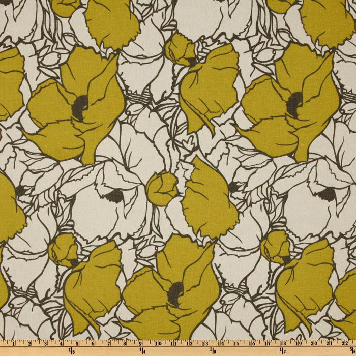 Premier Prints Cottage Summerland Citrine/Natural