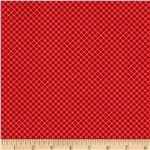 212817 Knock Knock Checkered Red