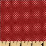FO-163 Pin Dot Strawberry Red