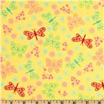 Peggy Sue Butterflies Yellow
