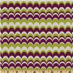 EM-353 Joel Dewberry Heirloom Marbled Stripe Green