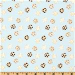 World Of Susybee Norton Cheeseballs Cream/Sky Blue