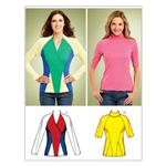 Kwik Sew Misses Knit Tops (3843) Pattern