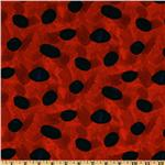 EN-460 The Grouchy Ladybug Dots Red/Black