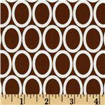 Remix Ovals Brown