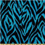 FI-779 Animal Print Zebra Blue/Black