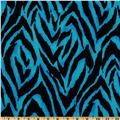 Animal Print Zebra Blue/Black
