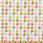 EZ-787 Michael Miller Bella Butterfly Happy Houndstooth Multi