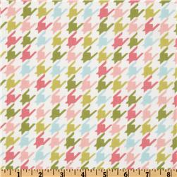 Michael Miller Bella Butterfly Happy Houndstooth Multi