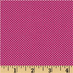 Moda Dottie Tiny Dots Magenta