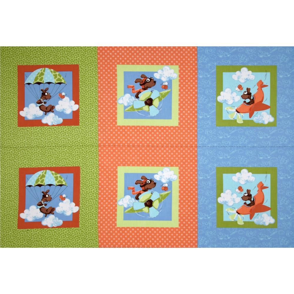 Susybee Zig Strip Panel Multi