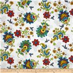 0274494 Gypsy Garden Large Floral White
