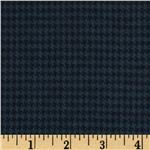 Primo Plaids Flannel Yarn Dyed Houndstooth Small Blue