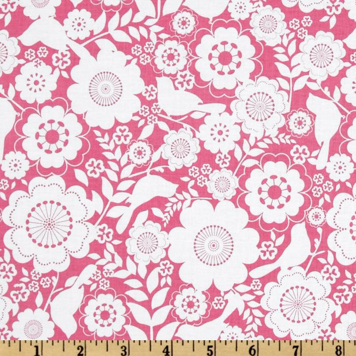 Song Bird Floral Pink