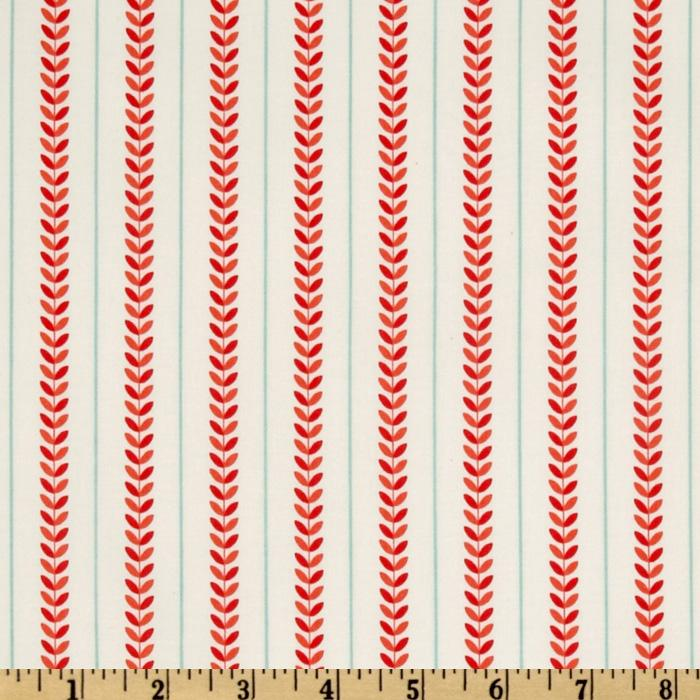 Verona Stripe Rouge