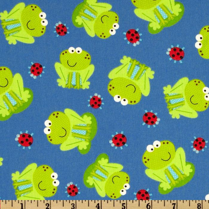 Frogs Blue/Lime