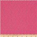 Moda Surrounded By Love Chevron Passion Pink