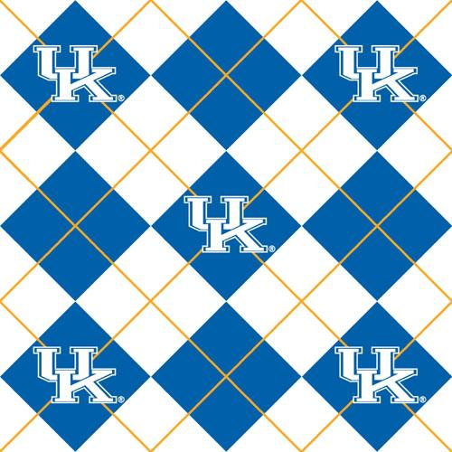 Collegiate Fleece University of Kentucky Argyle