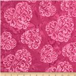 0269962 Bali Batiks Hearts Pink