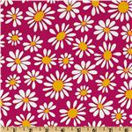 Crazy Daisy Small Daisy Bloom Fuchsia/Yelow