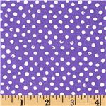 Play Date Confetti Dot Purple