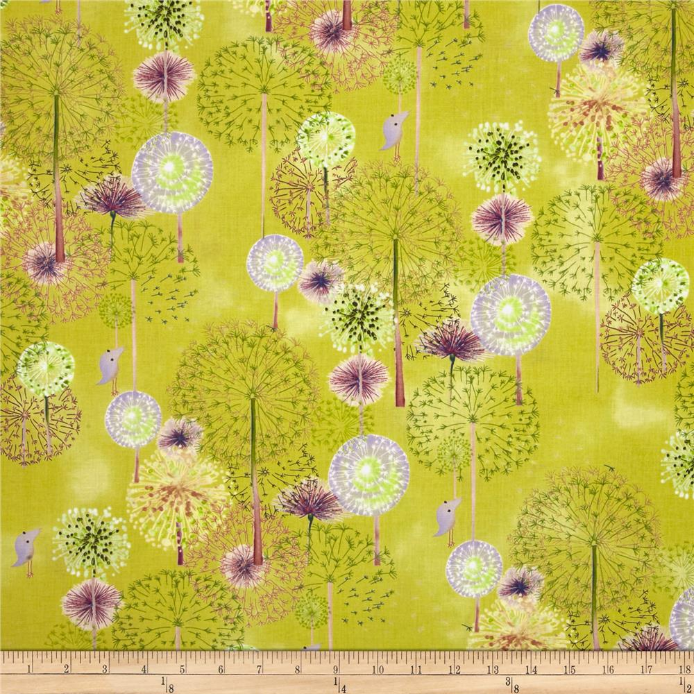 Forest Wonder Floral Green