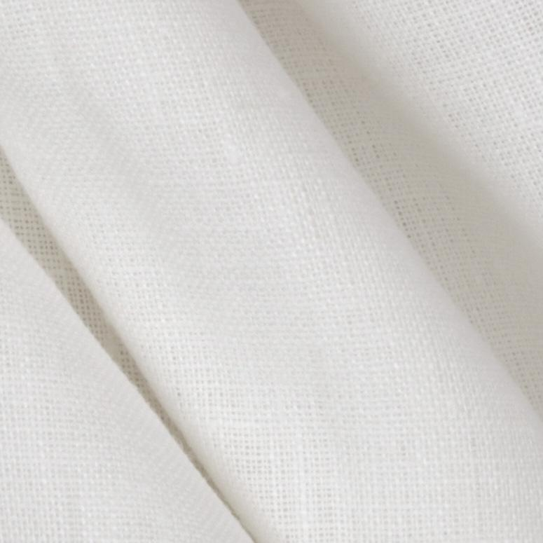 Light Weight Euro Linen White