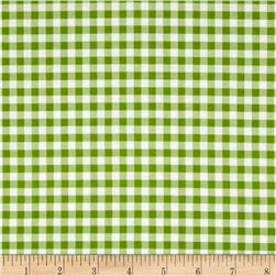 Riley Blake Medium Gingham Green