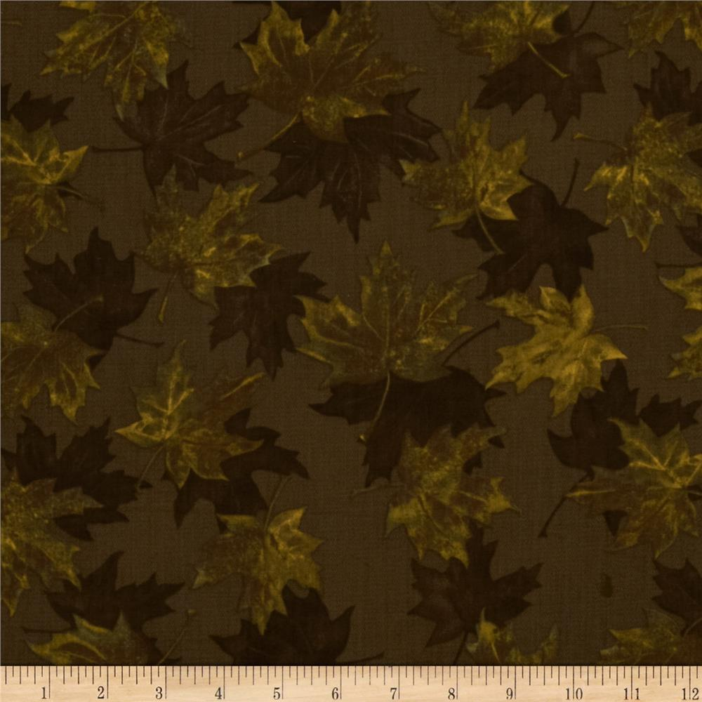 North by Northwest Autumn Leaves Tobacco Brown