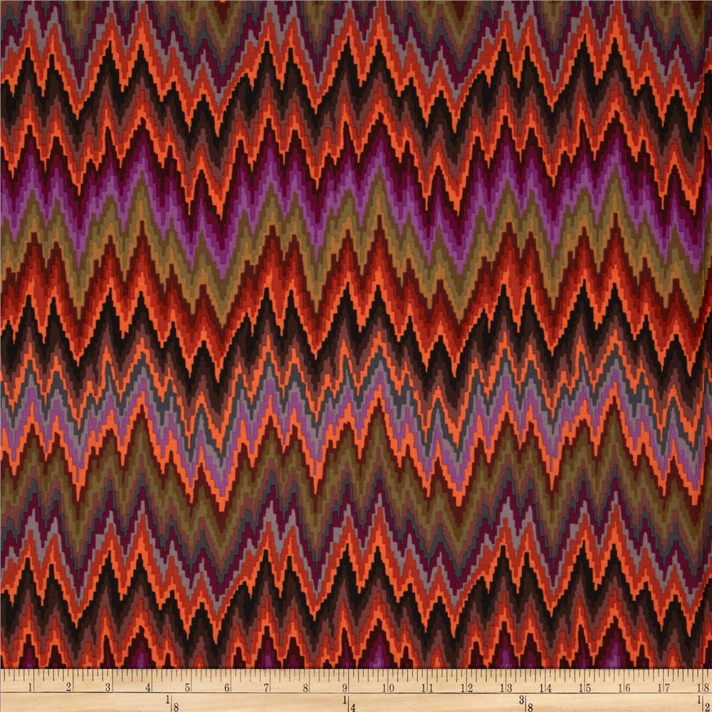Kaffe Fassett Spring 2013 Collection Flame Stripe Brown