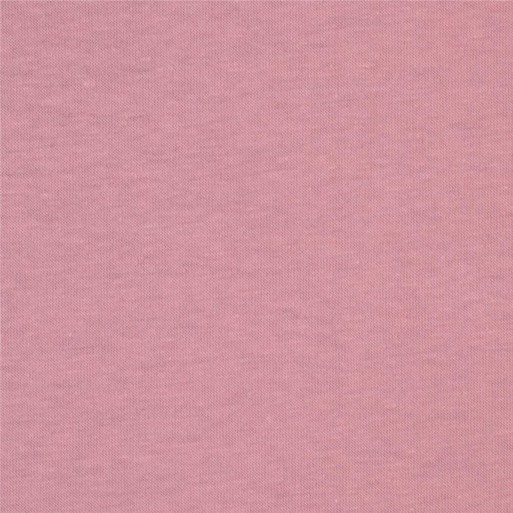Karavan Stretch Cotton Jersey Knit Pink