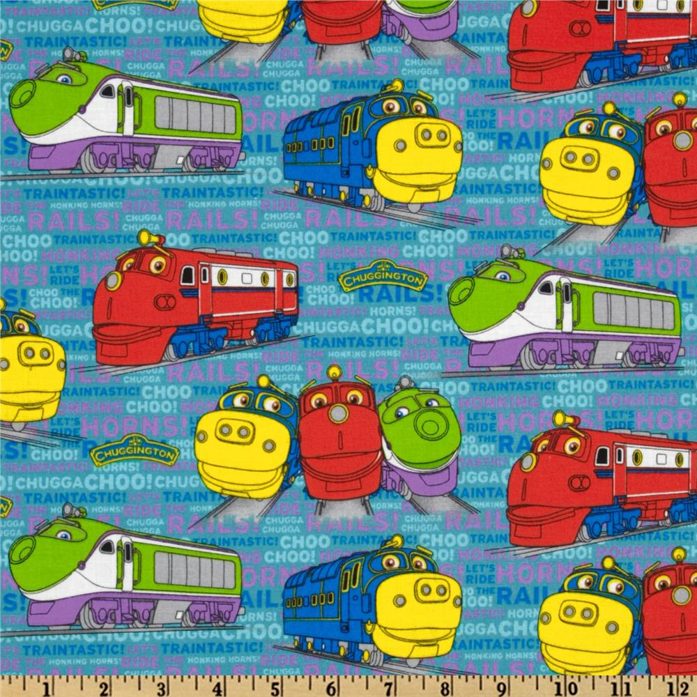 Chuggington Characters Teal