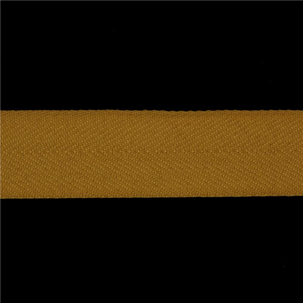 1 1/2&#39;&#39; Poly Twill Tape Ribbon Butterscotch