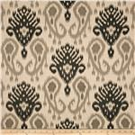 0292857 World Wide Barbados Ikat Charcoal