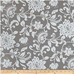 Riley Blake Mystique Large Floral Grey