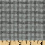 Primo Plaids Flannel Yarn Dyed Plaid Grey