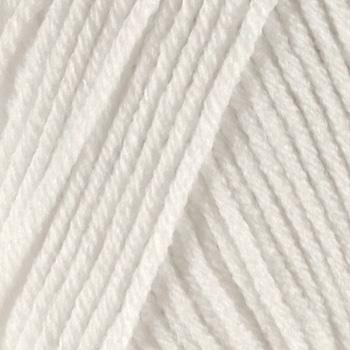 Lion Brand Cotton-Ease Yarn (100) Snow