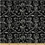Premier Prints Tuscany Twill Black/White
