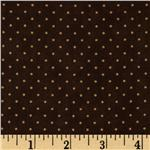 FG-369 Moda Essential Dots (# 8654-45) Chocolate
