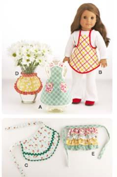 Kwik Sew Craft Mini Aprons Pattern