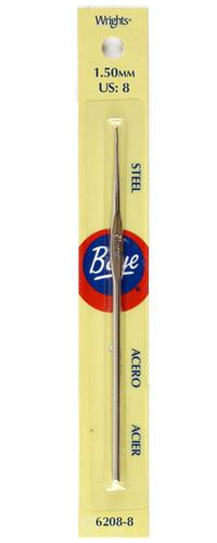 Boye Steel Crochet Hook 5'' Size 8
