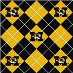 Collegiate Fleece University of Missouri Argyle